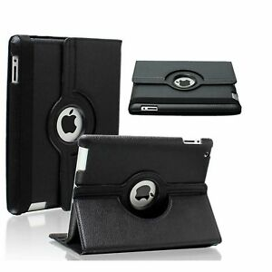 iPad 360 Rotating Stand Case Cover For iPad 2/3/4 iPad 9.7 2017/18/ Air2/5/10.2