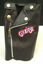 GREASE T-Bird Mallet Putter Golf Club Head Cover, Embroidered Leather Jacket