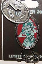 Disney Halloween 2016 Haunted Mansion Key& Lock Pin Constance Ghost Bride LE5000