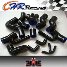 NEW Silicone Induction Intake Hose Audi S4 RS4 Biturbo A6 B5 2.7L Bi-Turbo BLACK