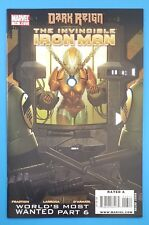 The Invincible Iron Man #13 RESCUE Marvel Comics 2009 Dark Reign