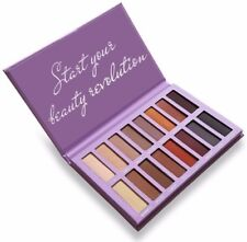 Eyeshadow Palette Matte - 16Professional Vegan Nudes Warm Natural Bronze Shades