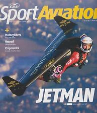 EAA Sport Aviation (Mar. 2011) (JETMAN, Nexrad, De Havviland DHC-1 Chipmunck)