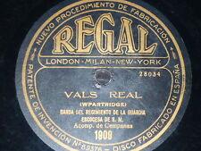 XILOFON 78 rpm RECORD Regal HOWARD KOOP La Marcha de los Botones / BANDA REG...