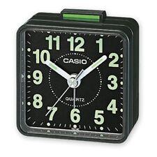 Casio TQ-140-1EF  Reloj despertador cuarzo, analógico- Negro