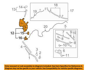 Infiniti NISSAN OEM 09-10 FX50 Windshield Wiper Washer-Reservoir Tank 289101CA0A