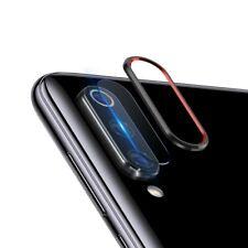Protector lente pantalla camara anillo aluminio Xiaomi Mi 9 / 9 se NEGRO