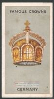 The Crown Of The German Empire Y/O Ad Trade Card