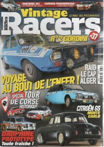 VINTAGE RACERS 37 R5 TURBO RSCORT RS MK2 CITROEN GS R12 GORDINI BREAK SINPAR