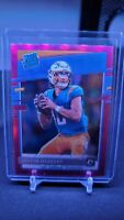 2020 Donruss OPTIC JUSTIN HERBERT Pink Holo RATED ROOKIE #153 RC Chargers🔥🔥🔥