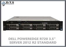 Dell PowerEdge R720 H710 E5-2680 v2 2.8Ghz 24gb 6x 300gb Windows Server 2012 r2