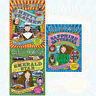 Jacqueline Wilson Collection 3 Books Set Hetty Feather Sapphire Battersea NEW