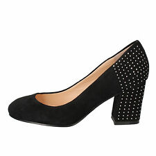 women's shoes GUESS 6,5 (EU 36,5) courts black suede AE845-D