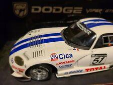AUTOart DODGE Viper GTS-R #51 Cica in White w/Blue Stripes 1/18 scale