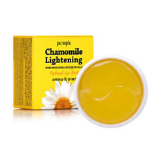 [PETITFEE] Chamomile Lightening Nourishing Hydrogel Eye Mask 60pcs/1bx KOREA NEW