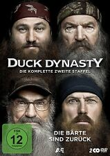DUCK DYNASTY-DIE KOMPLETTE 2.STAFFEL 2 DVD NEU