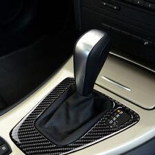 RHD Fit For BMW E90 Interior Trim Carbon Fiber Gear Shift Control Panel Sticker
