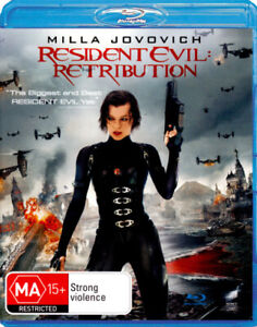 RESIDENT EVIL: RETRIBUTION (2012) [NEW BLURAY]