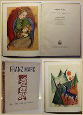Bünemann Franz Marc Zeichnungen-Aquarelle 1948 Kunst Kultur Erstausgabe sf