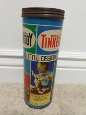 Vintage 1972 The Original Tinker Toys #126 Little Designer 95 pieces