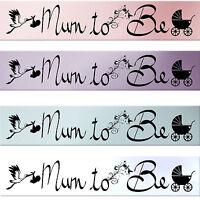 NEW BABY SHOWER SASH MUMMY TO BE SASH MUM PARTY SATIN MOM GIFT ACCESSORYS