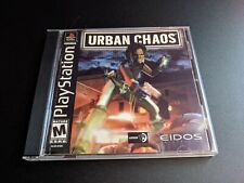 Urban Chaos Eidos Sony Playstation 1 PS1 EX+NM condition^