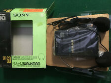 SONY SRF-60  WALKMAN PERSONAL CASSETTE PLAYER  AND RADIO NEW OLD STOCK
