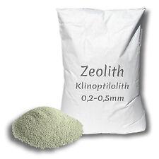 ZEOLITH 0,2-0,5 MM 25KG Zeolite Streu Einstreu Stahl Futter Schweine Kühe