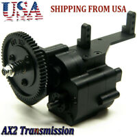 Aluminum AX2 2 Speed Transmission for RC 1:10 4WD Axial SCX10 Wraith Honcho US