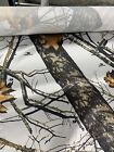 """Roll of Camo Fabric, Mossy Oak Winter, 60"""" Wide, 150 Yards, 100% Satin/Polyester"""