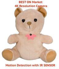 New Best 4K Uhd Resolution Hidden Spy Toy Baby Nanny Covert Camera Dvr Dv 32Gb