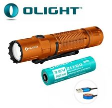 New Olight M2R Pro Warrior Orange USB Charge 1800Lumens LED Flashlight Torch