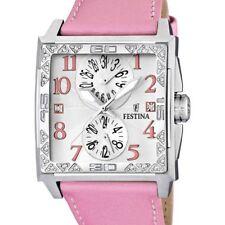 Festina Trend Analog Quartz Leder Damen-Armbanduhr F16570/2  WEIHNACHTSGESCHENK