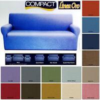 COPRIDIVANO 3 posti BIELASTICO linea COMPACT vari colori millerighe