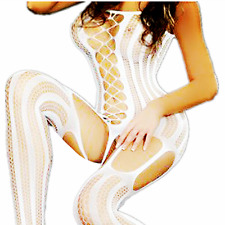 Stocking Nightwear Bodystockings Lingerie Big Bodysuit Fishnet Dress Mesh Body