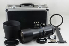 Mamiya sekor Z  500mm f/8.0  w/ Case, Hood[Very good] from Japan (99-E26)