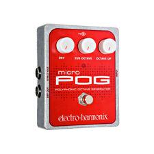 Electro-Harmonix POG Octave Guitar Effect Pedal