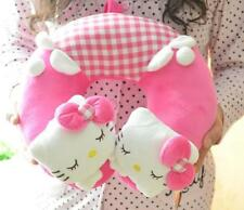 Cute Hello Kitty Soft Plush Neck Rest Car Airplane Office Travel U-type Pillow