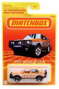 2021 Matchbox Retro Series #22 '90 Volkswagen Golf Country
