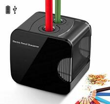 Electric Pencil Sharpener, Powered By USB or Battery Operated Heavy Duty Automat