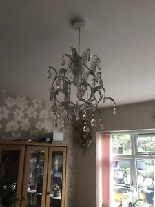 Light Fitting Small Chandelier Type