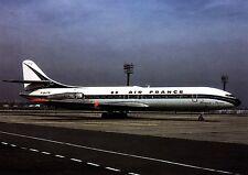 Air France , Caravelle III ,  Ansichtskarte