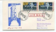 1971 Apollo 14 Hernn Josef Russ Westt Germany Cape Canaveral Space Cover