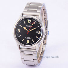 41mm CORGEUT Sapphire Glass MIYOTA 8215 Date Steel Case Automatic Men Wristwatch