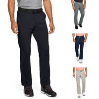Under Armour Mens EU Tech Stretch Straight Golf Trousers 30% OFF RRP