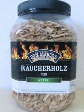Don Marco´s Barbecue Räucherholz Fein Apfel Holz 500 g Grill Aroma