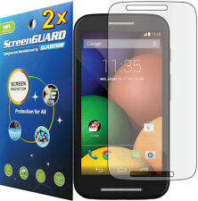 2x Ultra Clear Lcd Screen Protector Guard Cover Motorola Moto E Xt1022 Xt830C