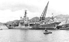 ROYAL NAVY AIRCRAFT CARRIER HMS GLORY AT HIROSHIMA, JAPAN - SEPTEMBER 1951