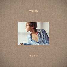 "TAEMIN "" PRESS IT "" BEIGE B VERSION "" CD + PHOTO BOOK + ETC "" [KpopStoreinUSA]"