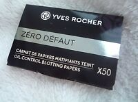 YVES ROCHER Oil Control Blotting Paper anti acne pimples blackheads 07078 gift